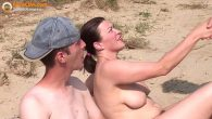 Permalink to Real amateur threesome on the beach